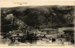 Le Velay Illustre Goudet Village tres pittoresque baigne par... - Goudet