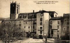 Lavoute Chilhac (Hte-Loire) L'Eglise et la Tour (Alt 470m) - Chilhac