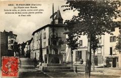 Saint-Paulien (Hte-Loire) - La Pierre aux Boeufs Sorte de table ... - Saint-Paulien