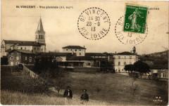Saint-Vincent - Vue générale (Alt 605m) - Saint-Vincent