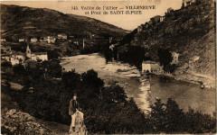 Vallée de l'Allier - Villeneuve et Pont de Saint-Ilpize - Saint-Ilpize