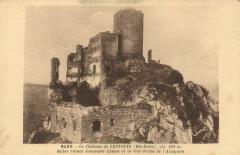 Le Chateau de Leotoing (Hte-Loire) Béeles ruines dommant Landau - Léotoing