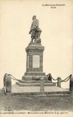La Hte-Loire Saint-Georges d'Aurac Monument aux Morts de la gr.guerre - Saint-Georges-d'Aurac