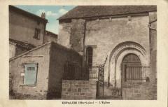 Espalem (Hte-Loire) L' Eglise - Espalem