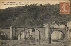 La Voute Chilhac (Hte-Loire) Le pont d' Allier - Chilhac