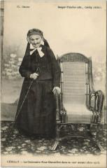 Cerilly - Mme Chavaillon dans sa 102e année - Cérilly