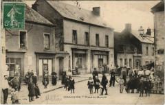 Couleuvre - Place du Marché - Couleuvre
