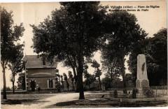 Le Vilhain-Place de l'Eglise-Monument et Bureau de Poste - Le Vilhain