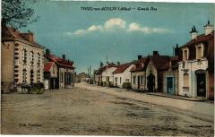 Thiel-sur-Acolin - Grande Rue - Thiel-sur-Acolin