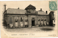 Souvigny - Facade du Prieuré - Souvigny