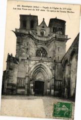 Souvigny - Facade de l'Eglise - Souvigny
