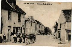 Couleuvre Avenue de la Mairie - Couleuvre