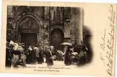 Bellenaves - Portail de l'Eglise Romane - Bellenaves