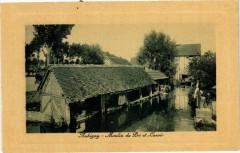 Aubigny - Moulin du Pré et Lavoir - Aubigny
