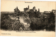 Montmarault-Ruines du Chateau de Murat - Murat