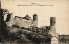 Laroquebrou Le Chateau cote des ruines France - Laroquebrou