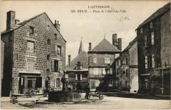 Besse Place de l'Hotel de Ville France - Besse