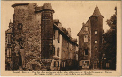 Salers Une des plus anciennes France - Salers