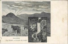 Salers Cascade du Couderc France - Salers