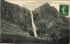 Cascades du Faillitou pres Thiezac France - Thiézac