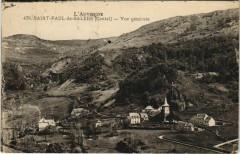 St.Paul de Salers Vue Generale France - Salers