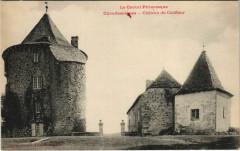 Chaudes-Aigues Chateau du Couffour France - Chaudes-Aigues