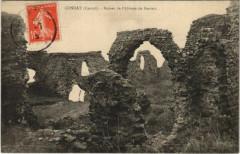 Condat Ruines de l'Abbaye de Feniers France - Condat