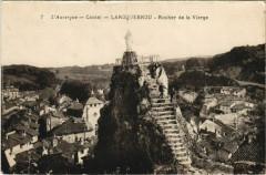 Laroquebrou Rocher de la Vierge France - Laroquebrou