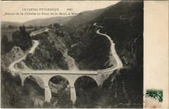 Ravin de la Clidelle et Pont de la Mort, a Menet France - Menet