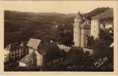 Les Ternes L'Eglise et le Chateau France - Les Ternes