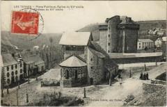 Les Ternes Place Publique, Eglise du Xve siecle France - Les Ternes