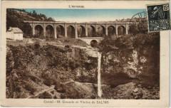 Cantal Cascade et Viaduc de Salins France - Salins