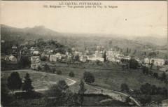 Saignes Vue generale prise du Puy de Saignes France - Saignes