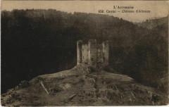 Cantal Chateau d'Alleuze France - Alleuze