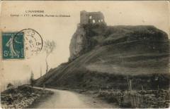 Apchon Ruines du Chateau France - Apchon