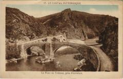 Le Cantal Pitt. Le Pont de Treboul, pres Pierrefort France - Pierrefort