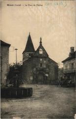 Menet La Place de l'Eglise France - Menet