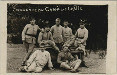 Souvenir du Camp de Lastic France - Lastic