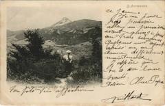 Le Puy Griouvu du Col de Saignes France - Saignes