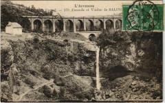 Cascade et Viaduc de Salins France - Salins