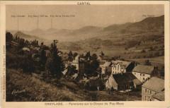 Cheylade panorama sur la Cirque du Puy Mary France - Cheylade