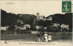 Polminhac et le Chateau de Pestel France - Polminhac
