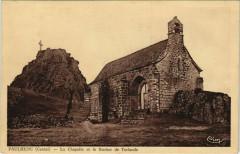 Paulhenc La Chapelle et le Rocher de Turlande France - Paulhenc