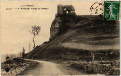 Apchon Ruines du Chateau Cantal - Apchon