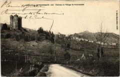 Chateau et Village de Tournemire Cantal - Tournemire