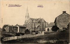 Sainte-Marie - L'Eglise - Sainte-Marie