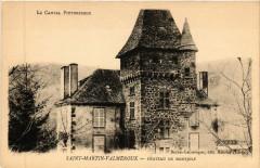 Saint-Martin-Valmeroux - Chateau de Montjoly - Saint-Martin-Valmeroux