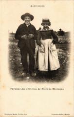 Riom-es-Montagnes - Paysans des environs de Riom-es-Montagnes - Riom-ès-Montagnes