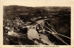 Laroquebrou - Vue Panoramique ouest - Laroquebrou