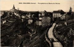 Chaliers - Vue générale et Route du Terran - Chaliers